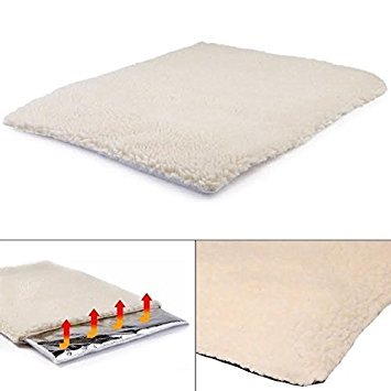 Self Heating Pet Blanket Pad Ideal for Cat/Dog Bed Medium by MAX-CARE