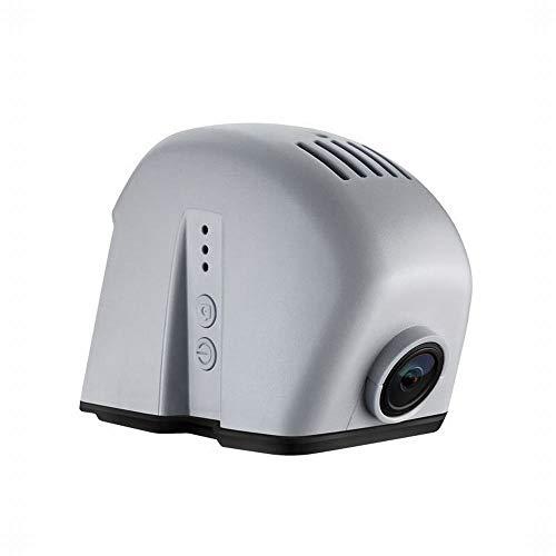 LASTARTS Spezielles Auto Fahren Recorder versteckte Nachtsicht HD 1080P WiFi Internet GPS elektronischen Hund Spur Auto In-Visor Mounted Video-Player (Farbe : Schwarz, Size : 189 * 82 * 61) (Sperrt Internet)