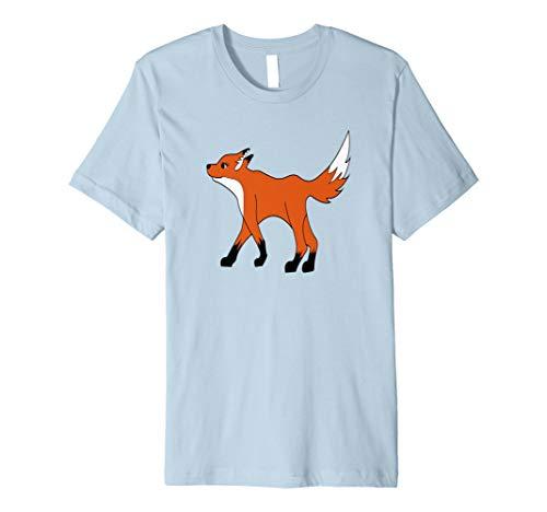 Fox Kostüm Shirt für Tier Wildlife Thema Geburtstag Party