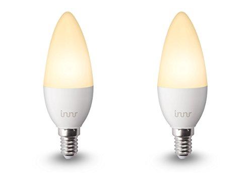 Innr E14 Ampoule LED connectée, blanc chaud (compatible avec Philips Hue*) RB 245 (RB 145-2)