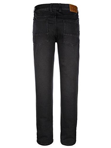 Herren Jog-Denim in Jeans-Optik Elastisch/Stretchanteil by John F. Gee Black