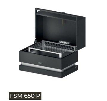 Galleria fotografica Fògher FSM 650P SMOKER PORTATILE FOGHER dim. GRIGLIA 645x380 mm