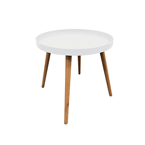 The concept factory Table plateau ronde - Blanche