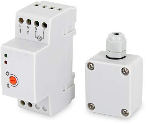 Aufputz Mini exterior Sensor Crepuscular 230V IP653000W-para