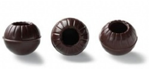 Callebaut Truffle Shells - Conchas / Bolas Huecas Trufas de Chocolate Negro (126 piezas) 340g