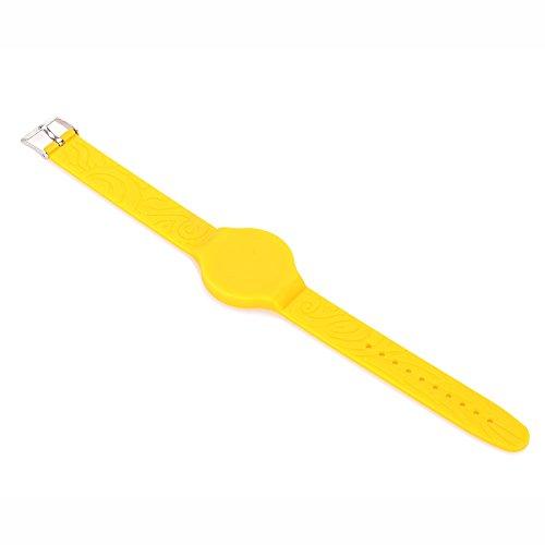 Hanbaili Silikon Armbänder Universal Armband EM4100 125Khz Proximity RFID Card Tag Wristband wasserdicht für Access Control