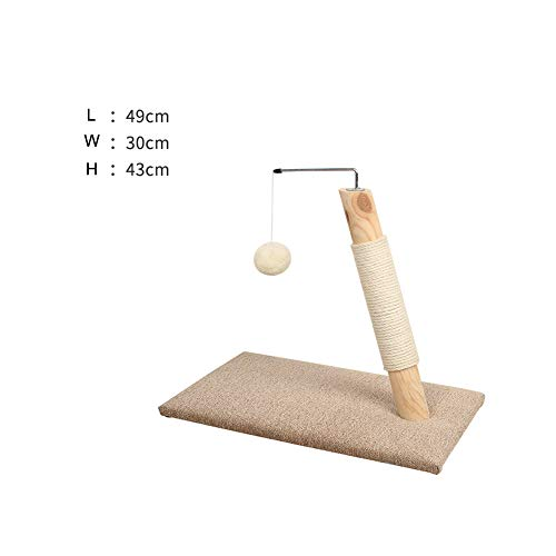 Cat Tree Tower Condo Furniture -Cat scratch board gatto sisal struttura da arrampicata nido di carta ondulata nido articoli per...