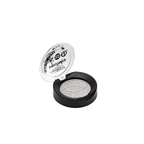 PUROBIO Ombre à Paupières n. 23 - Argent brillant - Texture Souple, Pigmentation Haut, Look Professional - 3,5 g