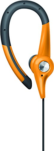 sharper-image-shp1105or-premium-earbuds-for-running-and-sport-activities-with-mic-orange