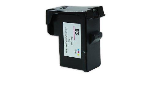 Cartucho compatible lexmark 018LX042E/NO83HC Color XXL–CMY–21ml