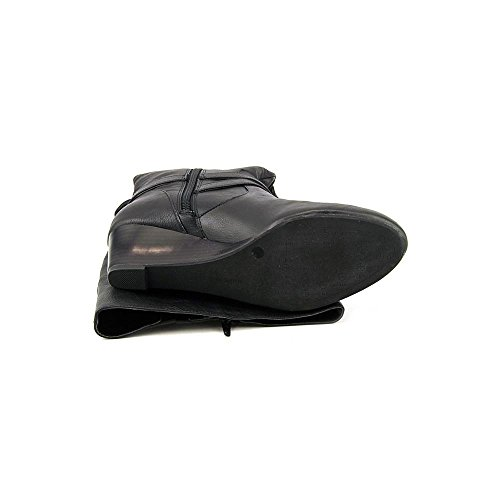 Giani Bernini Kalie Wide Calf Femmes Cuir Botte Black WC
