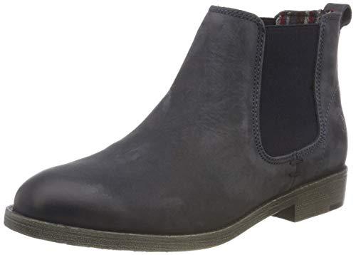 Tamaris Damen 25071-21 Chelsea Boots, Blau (Navy 805), 37 EU