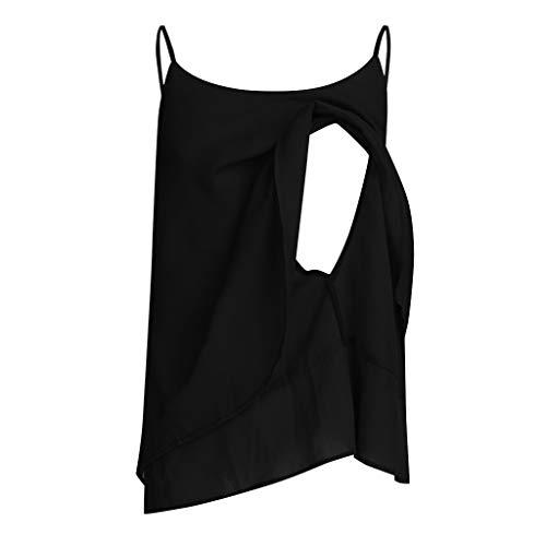 Vestiti premaman donna, maglietta intima di moda maglietta intima senza maniche camicetta per allattamento al seno
