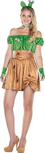 Rubie's Sexy Kaktuskostüm Kaktus Kostüm Blumen Kaktusse Kakteen Damen - Kaktus Kostüm