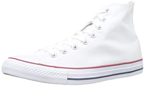 Converse Chuck Taylor Hi, Zapatillas Unisex, Blanco (Optical White), 39 EU