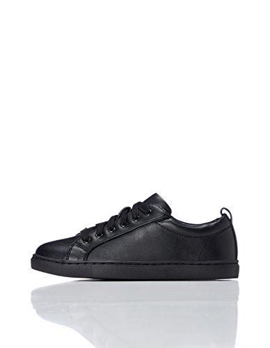 RED WAGON Minimalistischer Jungen Sneaker, Schwarz (Black), 33 - Hip Schuhe Hop
