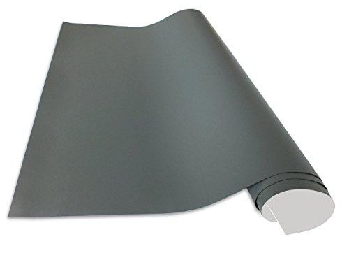 Selbstklebende und magnetische Vinyl- Tafelfolie in verschiedene Größen | Kreidetafel | Farbe: Grau | Formate: 50x70cm|100x50cm|100x75cm|100x150cm|100x250cm|100x300cm|100x500cm | inkl. 2xKreide + 10er Set SuperMagnete| Kreidetafel | Wandfolie (50x70cm)