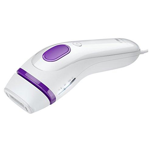Braun Silk-expert IPL Haarentfernungsgerät BD 3005, dauerhafte Haarentfernung, Männer/Frauen, weiß/violett (Haar-laser-entferner)