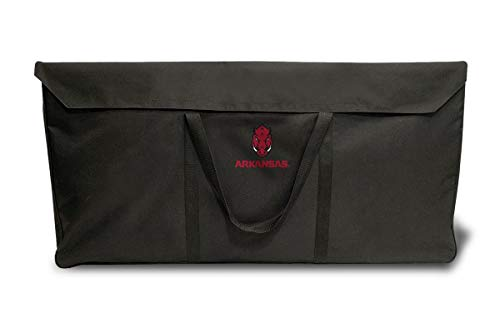 Proline NCAA College-Koffer, 60 x 1,2 m, reguläre Größe, Unisex-Erwachsene, NCAA Cornhole Carrying Case, schwarz