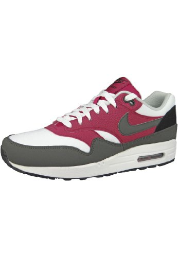 Nike Air Max 1 Essential, bassi Uomo Bianco (Weiß (White/Geyser Grey-Lab Green))