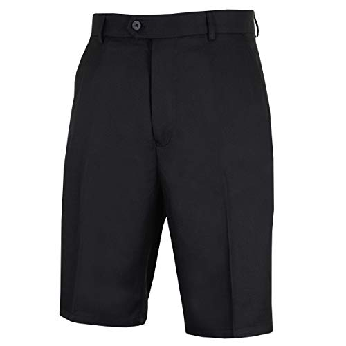 Stromberg Mens Plain Vorne Golf Shorts - Schwarz - 40