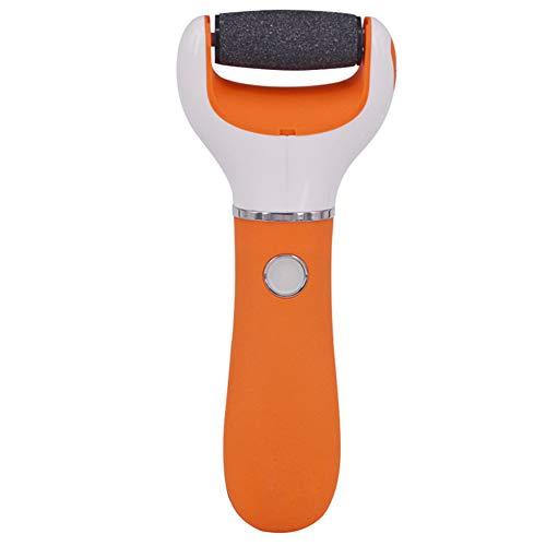 Elektronische Knöchel, Pediküre-Werkzeuge, wiederaufladbare Fußpflege-Werkzeuge, Hornhaut- und Krustenentferner (Orange)