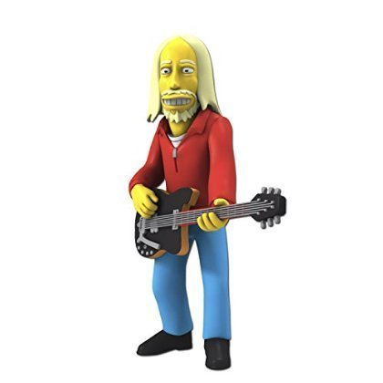 NECA-Simpsons-25th-Anniversary-5-Series-5-Tom-Petty-Action-Figure-by-USA