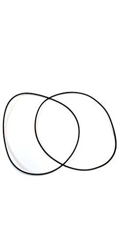 2Runden Dichtungen Dichtmasse für zeigt 32,50x 30,80x 0,85