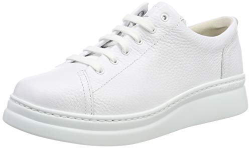 CAMPER Damen Runner Up Sneaker, Weiß (White Natural 100), 38 EU