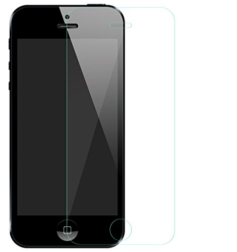 Verus Premium Quality Tempered Glass Screen Protector Guard For IPhone 5 Bubble free Application