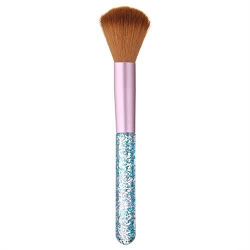 YCQUE Make-up Pinsel Set Muttertagsgeschenk Kunststoffgriff Kunsthaar Foundation Nasal Concealer Puder Lidschatten Eyeliner Lippenpinsel Schönheit Werkzeuge