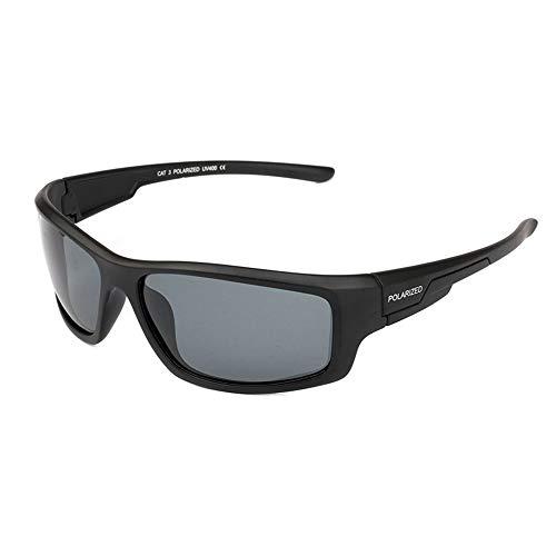 Herren Sonnenbrillen Pc Damen polarisierte Brille Reitbrillen Outdoor-Aktivitäten UV-Schutz Uv400 Outdoor-Sonnenbrille, schwarz
