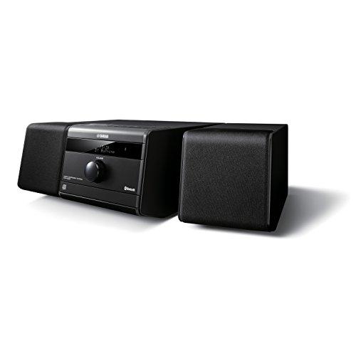 Yamaha MCR-B020BL Micro Component System (Black) [ Music System, Cd Player, Fm Radio, Bluetooth, Usb. ]