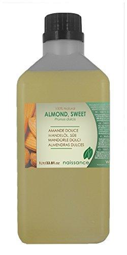 Aceite de Almendras Dulces Prensado en Frío - 100% Puro - 1 Litro