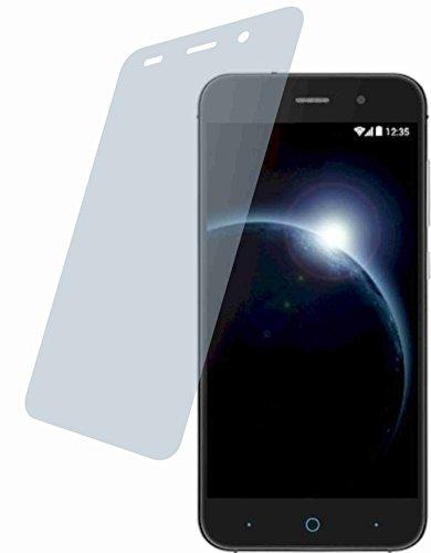 4ProTec ZTE Blade V6 (2 Stück) Premium Bildschirmschutzfolie Displayschutzfolie ANTIREFLEX - Kratzfest UND PASSGENAU