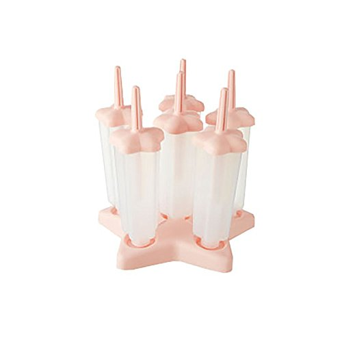 Foluton Eiswürfelform Eiscreme Formen DIY-EIS Lutscher Stieleisformen Ice Cream Pop Formen Maker Bear EIS Stiel-Form-EIS-Silikon-Form-EIS Lolly Moulds