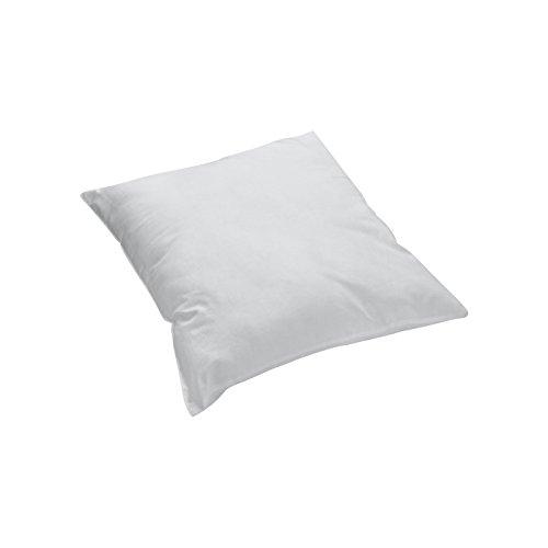 PRIMERA first sleepware Kopfkissenbezug Kissenbezug Perkal uni einfarbig grau 40x40cm 100% Baumwolle hochwertige Qualität, OekoTex Standard 100