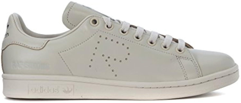 adidas Sneaker by RAF Simons Stan Smith aus Hellgrauem Leder -