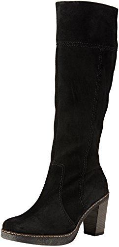 Gabor Basic, Bottes Haute Femme Noir (Schwarz 17)