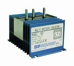 Preisvergleich Produktbild Batterie Isolator Model 702 70AH Ladestromverteiler Trenndiode für 2 Batterien Sure Power