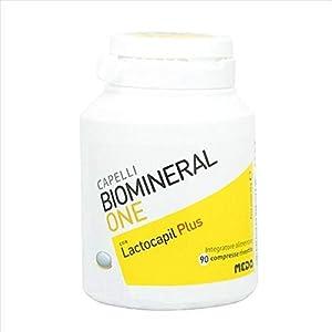 Biomineral One Con Lactocapil Plus Integratore Alimentare Anticaduta Capelli 90 Compresse 1 spesavip