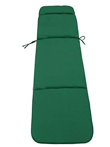 UK-Gardens Gartenmöbel Kissen–Grün Kissen für einen Garten Liegestuhl 184x 48x 6cm