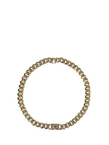 Alexander McQueen Damen 587718J160z1364 Gold Metall Hallskette