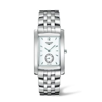 Longines Dolce Vita Stainless Steel Mens Watch ETA980 White Dial