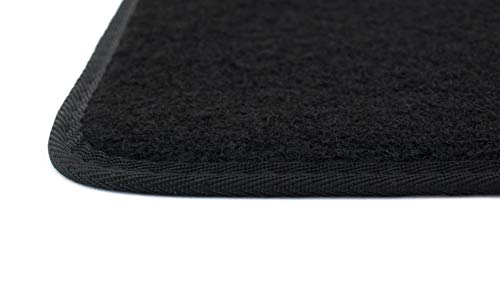 Just Carpets Passgenaue Fußmatten für Ihren Civic | Ausführung: 3-Türen | Baujahr: 2001-2005 | 3-teilig | Material: Nadelfilz - 2005 Civic Fußmatten Honda