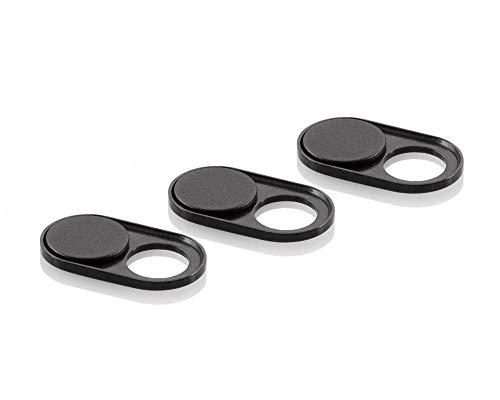 soomz Webcam Cover, Ultra-dünn für Laptop, PC, MacBook, iPhone, iPad, Smartphone, Schützt Ihre Privatsphäre + Sicherheit, Schiebe-Abdeckung - einfache Handhabung und starker Kleber - Premium Qualität