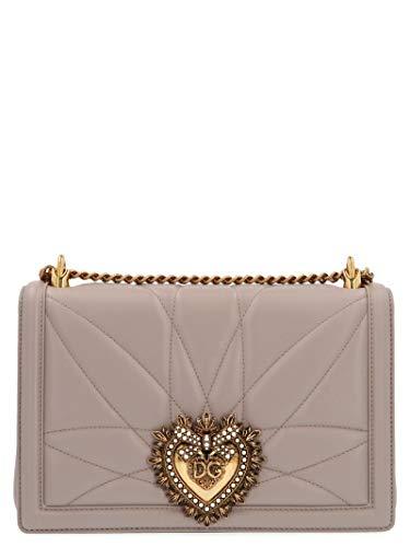 Luxury Fashion | Dolce E Gabbana Donna BB6651AV9678H062 Grigio Borsa A Spalla | Stagione Permanente