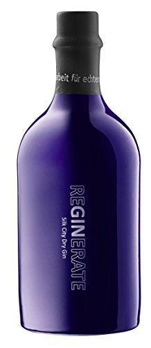 ReGINerate Silk City Dry Gin London Dry Gin Krefeld  ideal mit Thomas Henry Elderflower Tonic Water 46% vol 500 ml
