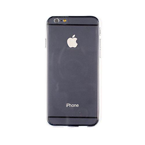 Aiino - Custodia Crystal Case trasparente protezione 2 strati Anteriore Posteriore antishock antigraffio per telefono smartphone apple iPhone 6 Plus/6s Plus - Trasparente Trasparente