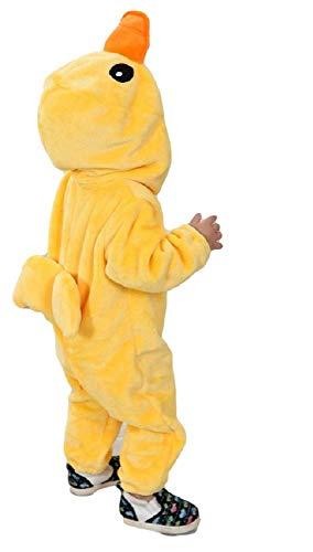Fancy Me Baby Kleinkind Jungen Mädchen Gelb Ostern Huhn Ente Tier Overall Maskenkostüm - Gelb, Gelb, 4-5 Years (110cms)